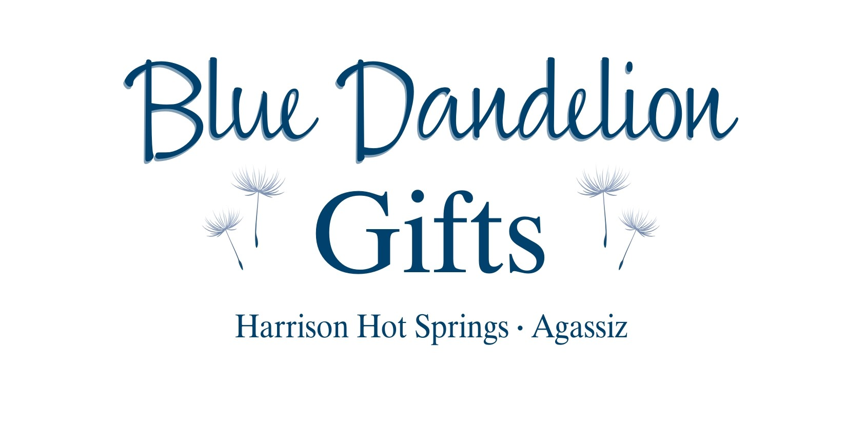 Harrison Hot Springs Lights By The Lake Blue Dandelion Gifts